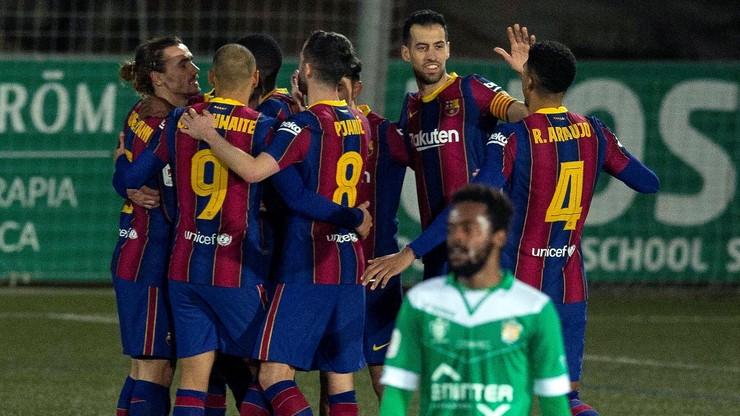 Puchar Króla: Wymęczone zwycięstwo Barcelony. Dwa zmarnowane karne