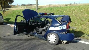 Przyjechali na miejsce kolizji, w ich radiowóz uderzyło auto. Zginęła policjantka na służbie