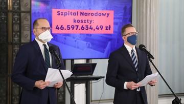 Posłowie KO: szpital na PGE Narodowym kosztował już co najmniej 46,6 mln złotych