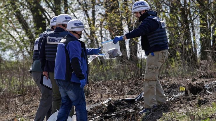 OBWE: wybuch samochodu misji nie był wypadkiem