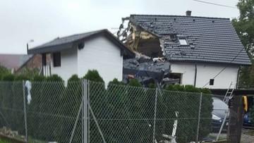 Wybuch gazu w domu w Kobiernicach. Jedna osoba nie żyje