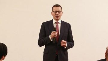 """""""Propaganda, jakiej by się nie powstydził Jerzy Urban"""". Premier o """"mediach należących do opozycji"""""""