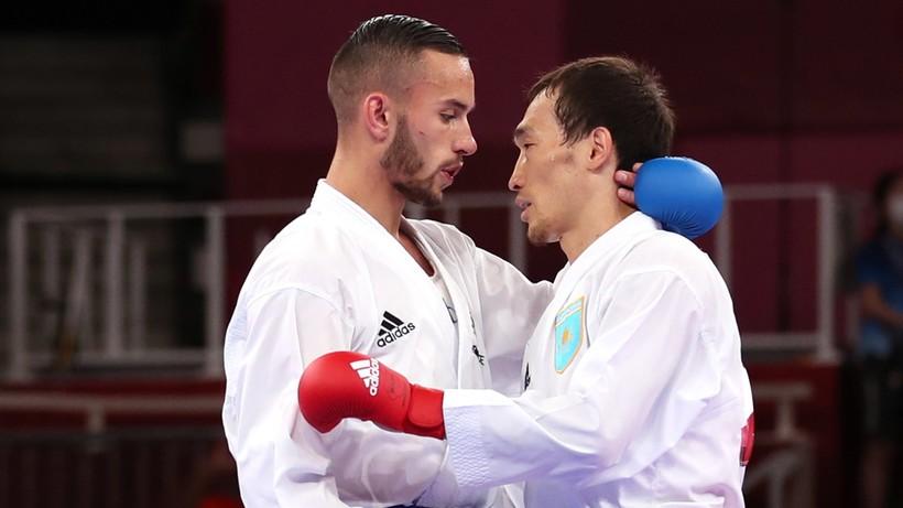 Francuz ze złotym medalem olimpijskim w karate