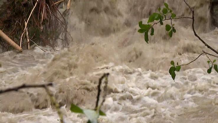 Pogotowie przeciwpowodziowe w Oświęcimiu. Przekroczone stany ostrzegawcze na rzekach
