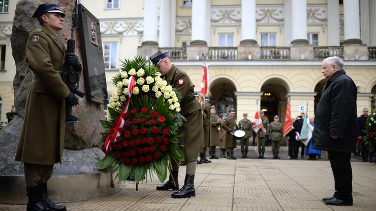 Z asystą wojskową bez apelu smoleńskiego. 14. rocznica zaprzysiężenia Lecha Kaczyńskiego na prezydenta Warszawy