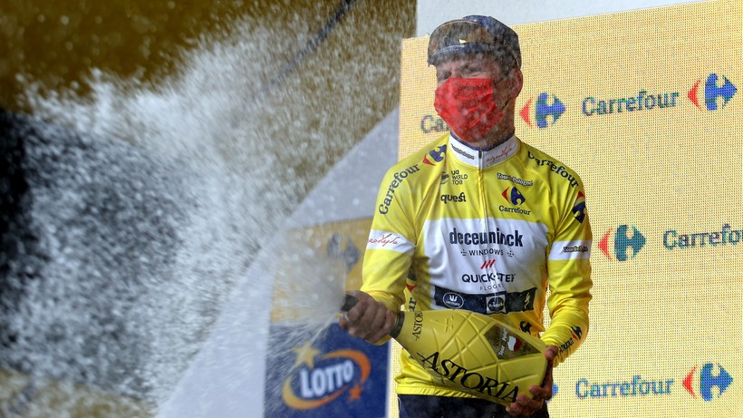 Tour de Pologne 2021: Klasyfikacja generalna po 6. etapie