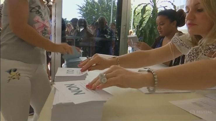 Media: większość głosujących w Nowej Kaledonii za pozostaniem przy Francji