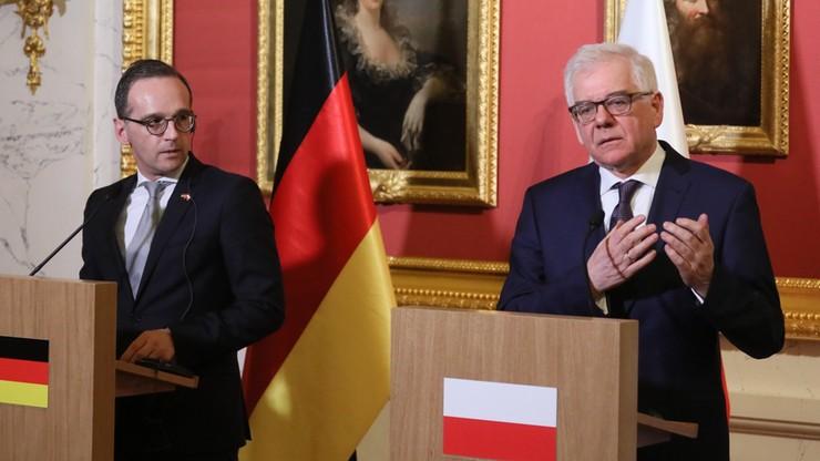 """""""Poszukiwanie wspólnego mianownika"""". Niemieckie media po wizycie szefa MSZ w Polsce"""
