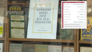 Powstał kalkulator książek Olgi Tokarczuk. Sprawdź, ile czasu zajmie przeczytanie każdego z tytułów