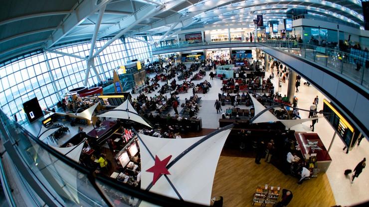 Londyn: wichura sparaliżowała lotniska