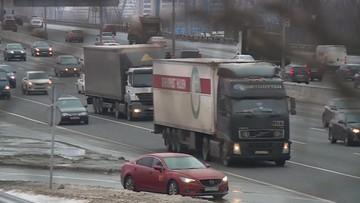 Pijany za kierownicą ciężarówki na autostradzie A4
