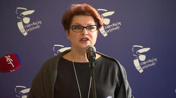 Gawor: na pewno byłam weryfikowana za prezydentury w Warszawie Lecha Kaczyńskiego
