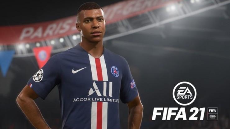 FIFA 21: Mbappe na okładce gry