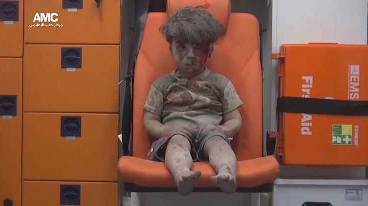 On stał się symbolem piekła wojny, jego starszy brat stracił życie