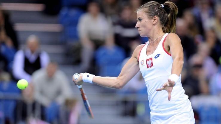 WTA w Dausze: Porażka Rosolskiej w pierwszej rundzie debla