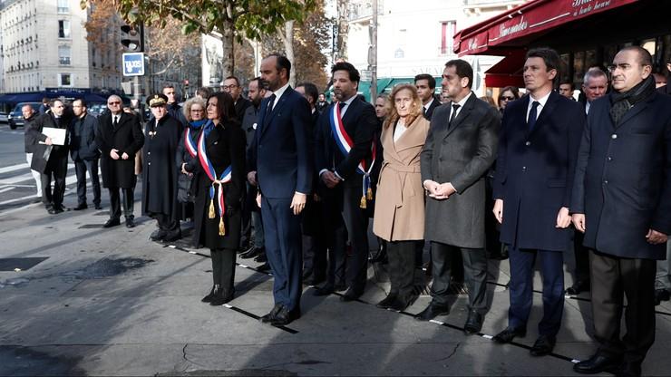 Trzecia rocznica zamachów w Paryżu. Pochód w hołdzie ofiarom