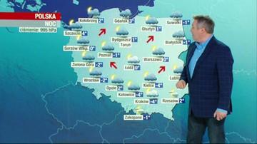 Prognoza pogody - środa, 20 stycznia - popołudnie