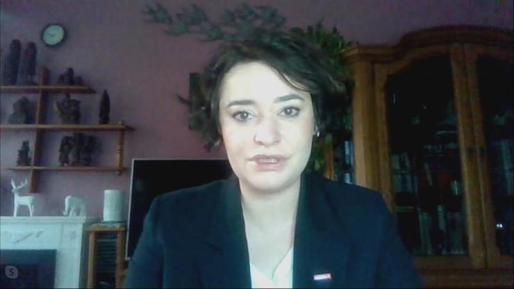 Żukowska: nie ma mowy o koalicji z PiS, a skuteczność Strajku Kobiet nie jest powalająca