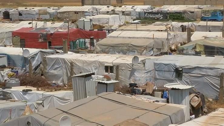 Zamachowcy wysadzili się podczas obław w obozach dla uchodźców