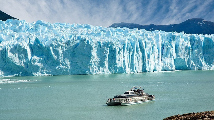 Lodowiec Perito Moreno. Fot. Max Pixel.