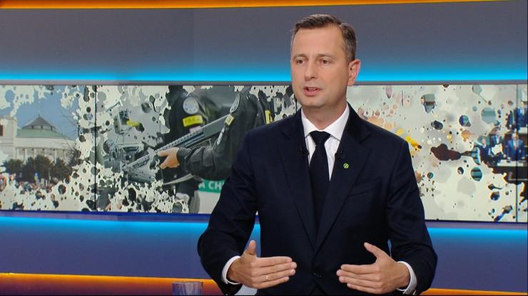 """Władysław Kosiniak-Kamysz w """"Graffiti"""" o stanie wyjątkowym: to pokazanie ogromnej słabości państwa"""