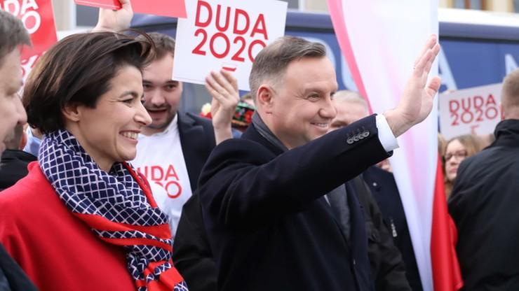 Szefowa kampanii Dudy zamieściła zeznania strażnika z interwencji w Milanówku