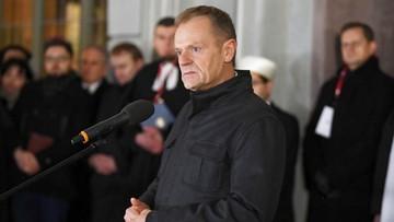 Tusk: kochany Pawle, obronimy Gdańsk, Polskę i Europę przed nienawiścią i pogardą