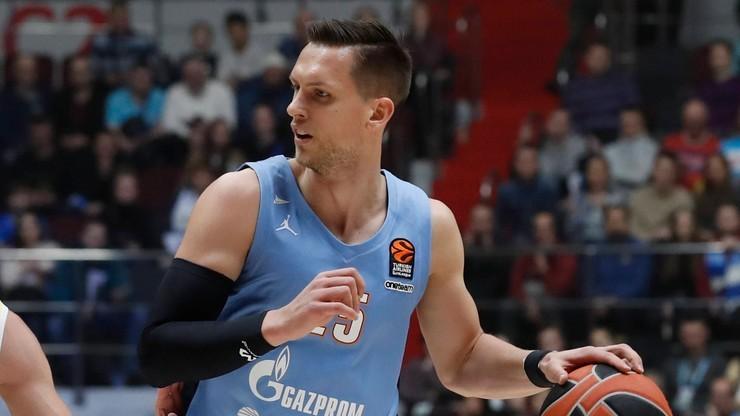 Ponitka poprowadził Zenit do wygranej z Baskonią w Eurolidze