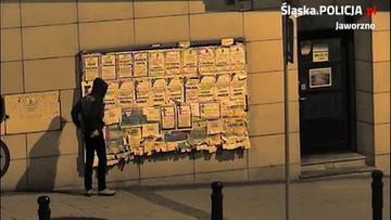 W centrum miasta rozwiesił intymne zdjęcia nieletniej. Nagrała go kamera monitoringu