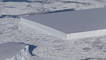 Góra lodowa o regularnym kształcie. NASA opublikowała niezwykłe zdjęcia