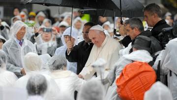 Papież w Japonii: dobrze znamy historię naszych upadków, grzechów i ograniczeń [ZDJĘCIA]