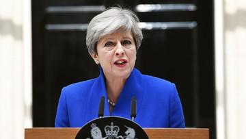 Premier May zapowiedziała powołanie nowego rządu