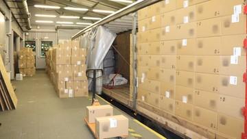 Papierosy warte ponad 12 mln zł w ciężarówce. Udaremniono rekordowy przemyt