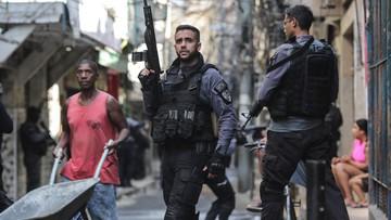 Strzelanina w Rio de Janeiro. Wielu zabitych, w tym policjant