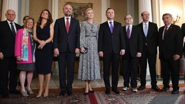 Prezydent Duda spotkał się w USA z przedstawicielami organizacji żydowskich
