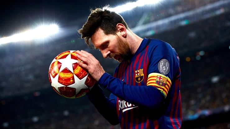 Liga Mistrzów: Messi po raz szósty królem strzelców