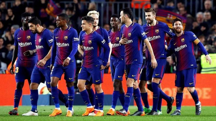 Barcelona przed trudnym sprawdzianem