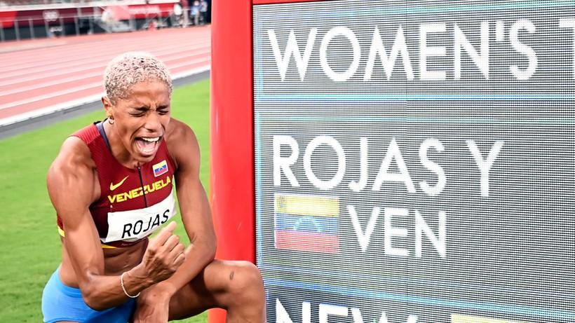 Tokio 2020: Yulimar Rojas ze złotem i rekordem świata w trójskoku