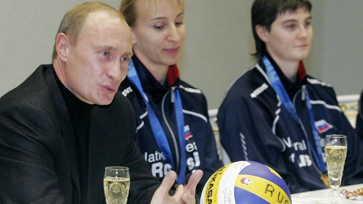 """Władimir Putin wielkim fanem siatkówki. """"Ogląda mecze i dzieli się wrażeniami"""""""
