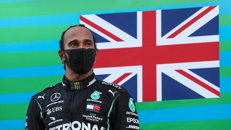 Formuła 1: Lewis Hamilton najszybszy w Grand Prix Hiszpanii
