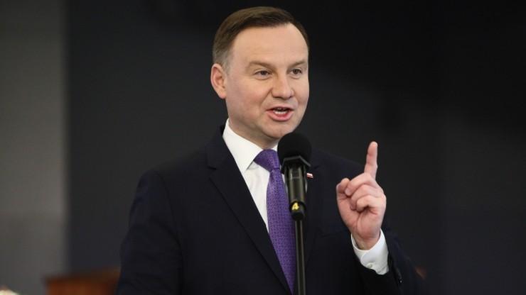 """W noweli o IPN prezydent zaskarżył m.in. przepisy dotyczące """"ukraińskich nacjonalistów"""""""