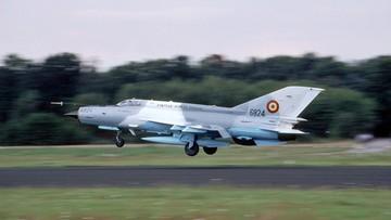 Kolejna katastrofa MIG-29. Tym razem w Rumunii. Pilot nie żyje