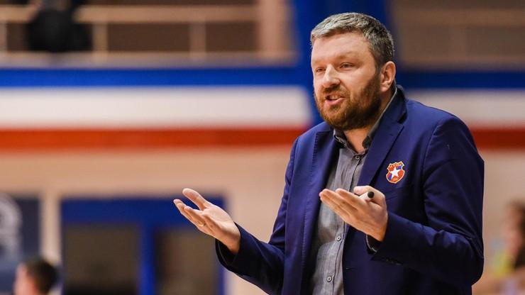 Energa Basket Liga: Szewczyk nie jest już trenerem Wisły CanPack Kraków