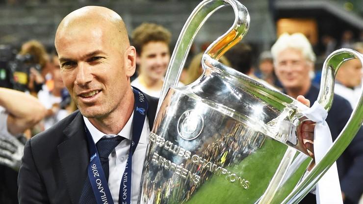 Zinedine Zidane zrezygnował z funkcji trenera Realu Madryt