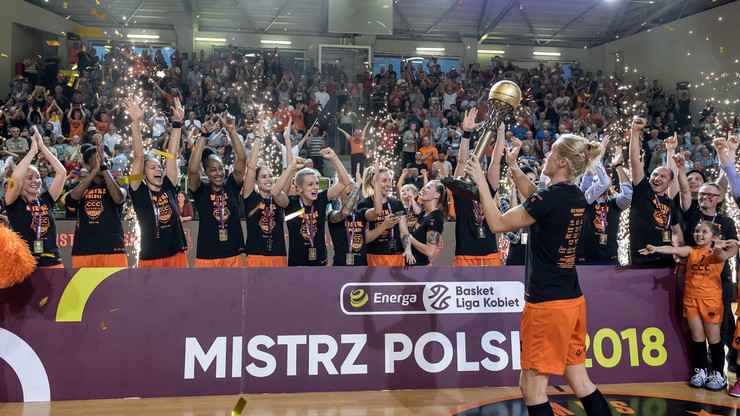 CCC Polkowice po raz drugi mistrzem Polski!