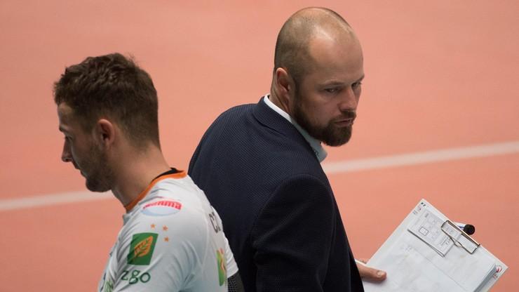 Trener siatkarzy BBTS Bielsko-Biała trafił do szpitala!