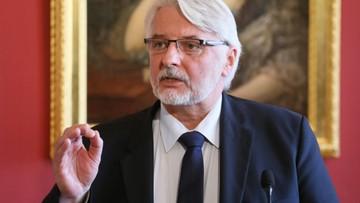 Waszczykowski: w ciągu 5 lat możemy być gazowo niezależni od Rosji