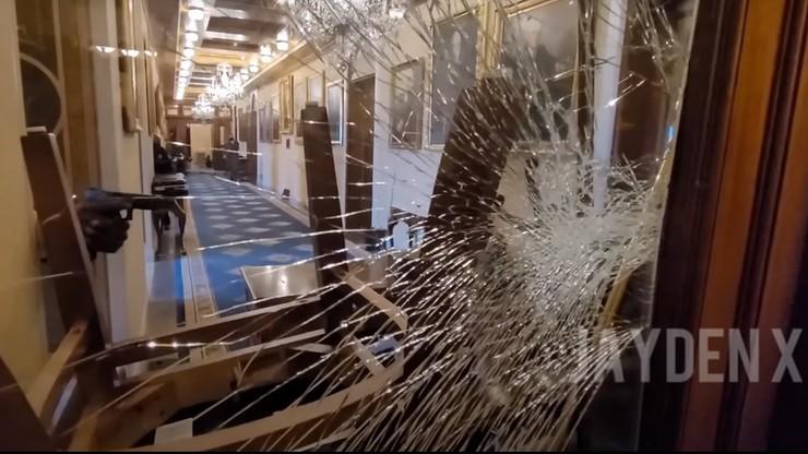 USA. Upubliczniono imię policjanta, którzy zastrzelił uczestniczkę ataku na Kapitol