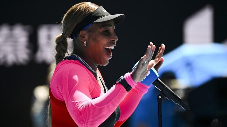 Australian Open: Serena Williams awansowała do 1/8 finału. Weteranka wygrała w dwóch setach