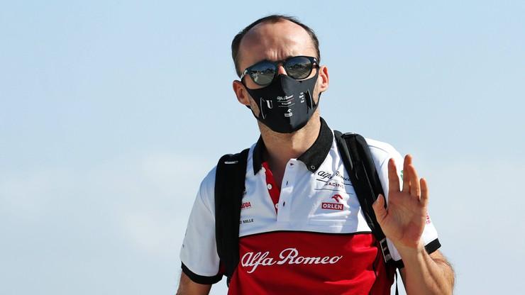 Formuła 1: Robert Kubica wciąż kierowcą testowym Alfa Romeo w 2021 roku